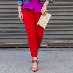 Cynthia Rowley Red Pants